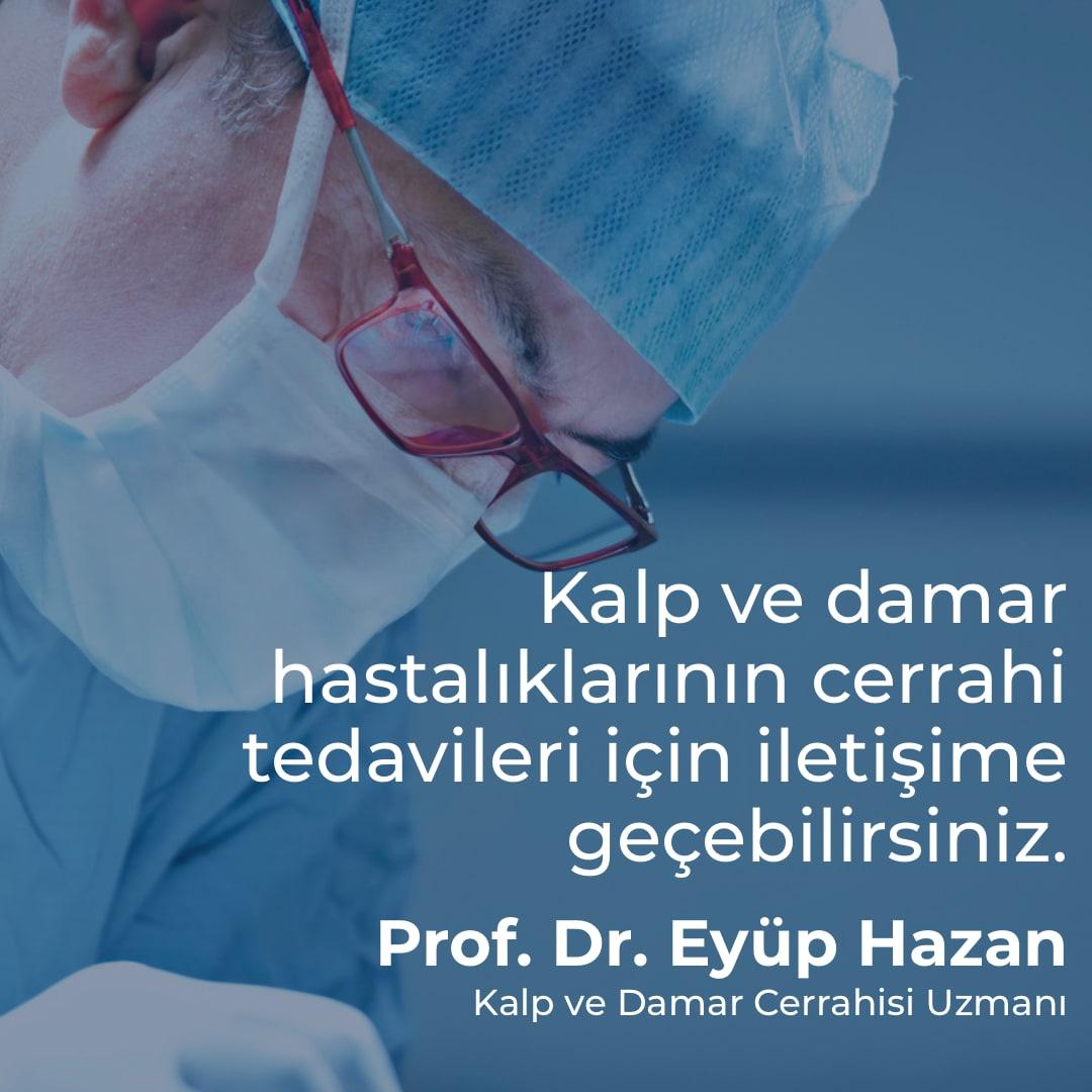 Prof. Dr. Eyüp Hazan